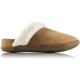 Sorel Nakiska Slide II Pantoffels Dames, camel brown/natural